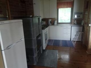 Pikkumökki Sorjosen lomamökit Sulkava keittiö