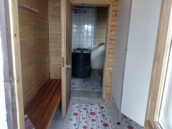 Jukka-mökki saunaan, Sorjosen lomamökit Sulkava