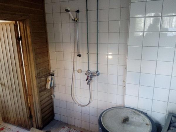 Jukka-mökki suihku, Sorjosen lomamökit Sulkava