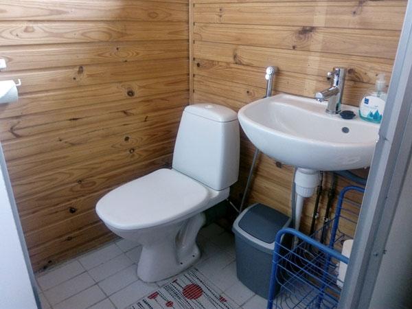 Jukka-mökki wc, Sorjosen lomamökit Sulkava