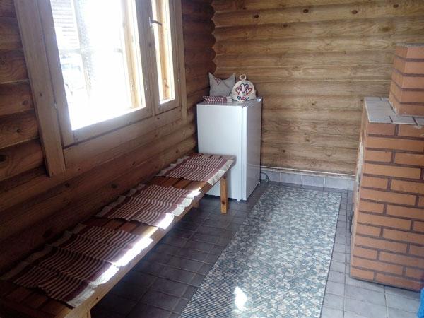 Tuula-mökki saunan pukuhuone, Sorjosen lomamökit Sulkava